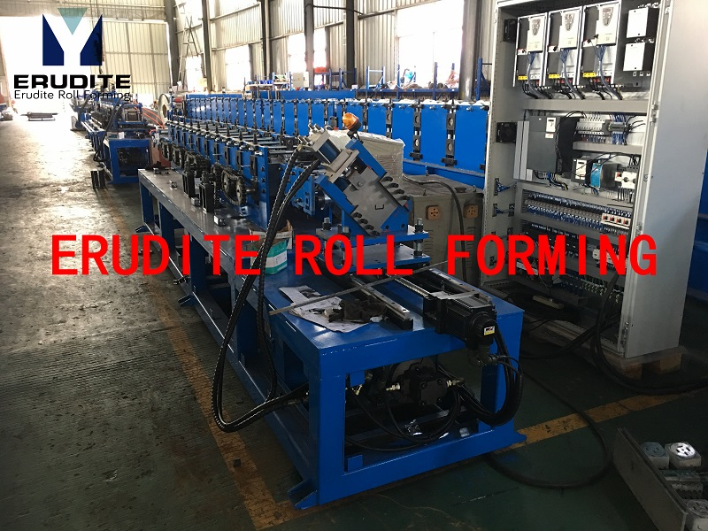 U37 Roll Forming Line For Carry Channel Profile With Servo Flying Cut 25-30mpm