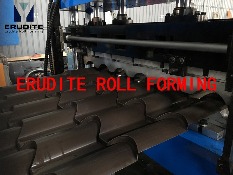 YX39-190-950 Tile Roof Metal Roll Forming Line