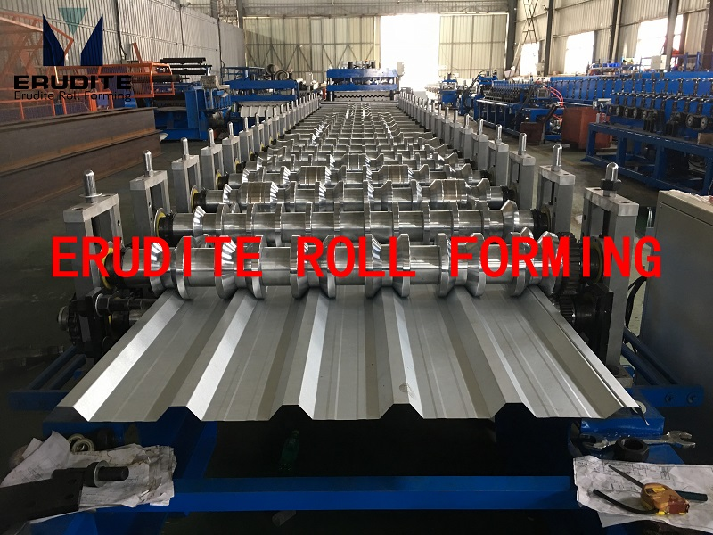 YX30-200-1000 ROLL FORMING LINE FOR ROOFING PROFILE
