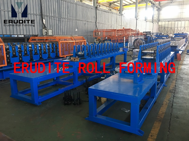 U17 ROLL FORMING LINE FOR CARRY CHANNEL PROFILE WITH SERVO FLYING CUT 60mpm