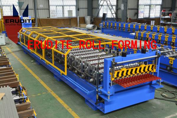 YX18-76.2-1066.8 ROLL FORMING MACHINE FOR CORRUGATED PROFILE