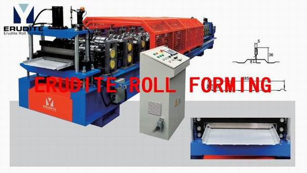 YX36-485 ROLL FORMING MACHINE FOR KLIP-LOCK PROFILE