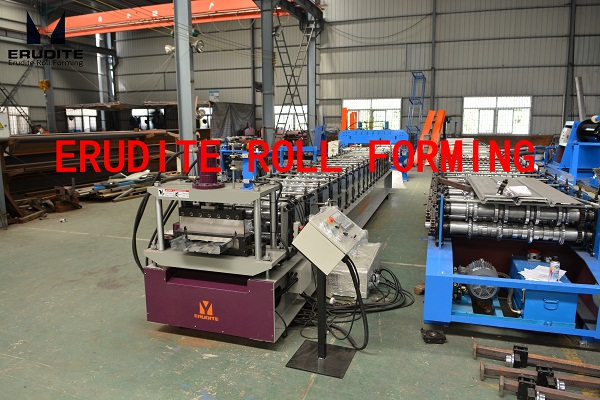 YX65-300,400,430 ROLL FORMING LINE FOR STANDING SEAM PROFILE