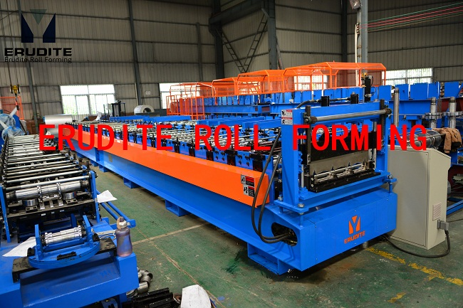 YX34.5-237-710 ROLL FORMING MACHINE FOR KLIP-LOCK PROFILE