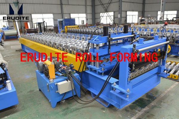 YX38-194-970 ROLL FORMING MACHINE FOR STEP TILE ROOF PROFILE