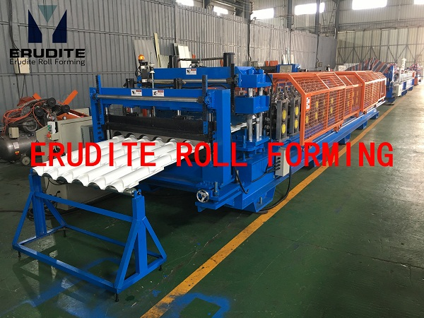 YX35-192-960 ROLL FORMING MACHINE FOR STEP TILE ROOF PROFILE