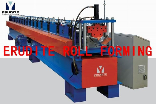 R113 ROLL FORMING MACHINES FOR RIDGE CAP PROFILE WITHOUT TOP RIB