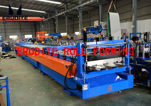 YX50-334-1000 ROLL FORMING MACHINE FOR FLOOR DECKING