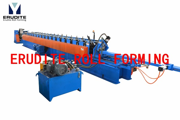 C PURLIN ROLL FORMING MACHINE WITH MECHANICAL FLYING CUT