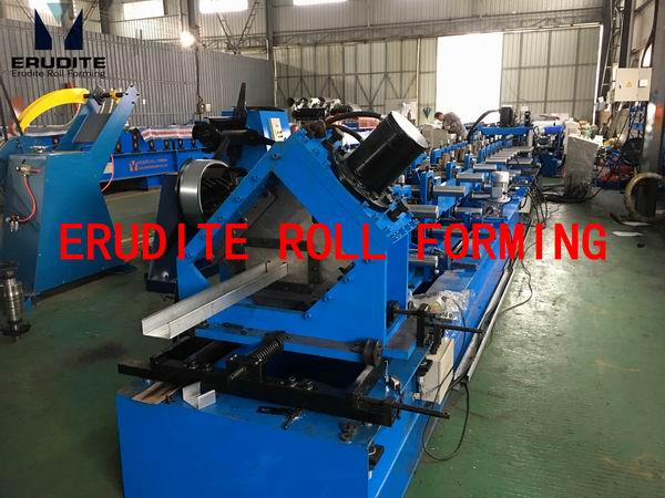 C AUTOMATIC-SIZE-CHANGING ROLL FORMING MACHINE