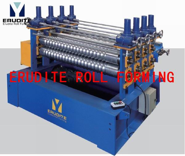 ROLL FORMING MACHINE FOR BOTTOM RIBS (WORKING WITH PU LINE)