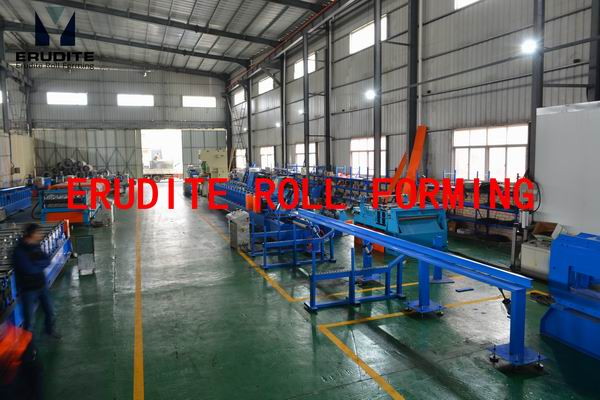 YX80-85/115/145 Metal Roll Forming Line with on-line punching