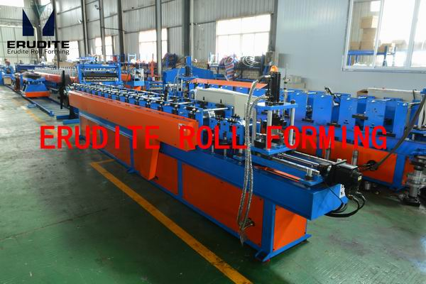 YX36-72 Batten Metal Roll Forming Line with servo flying cut