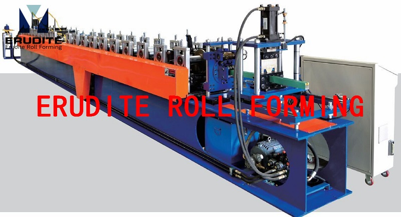 YX55-42 Roll Forming Machine for Door Guide Rails with Sealed Rubber