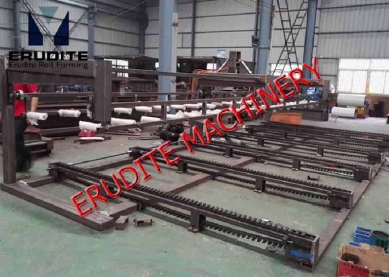PNEUMATIC SINGLE-LEVEL STACKER FOR NORMAL ROOF ROLL FORMING MACHINE