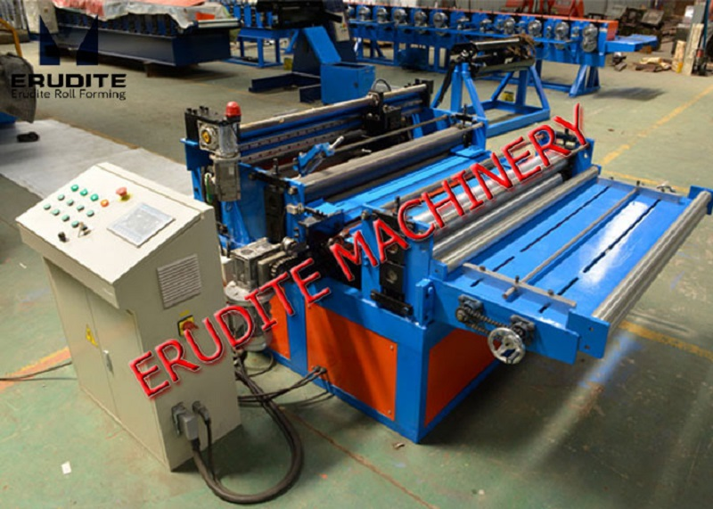 AUTO PRE-SHEARING AND TAPER SLITTING MACHINE