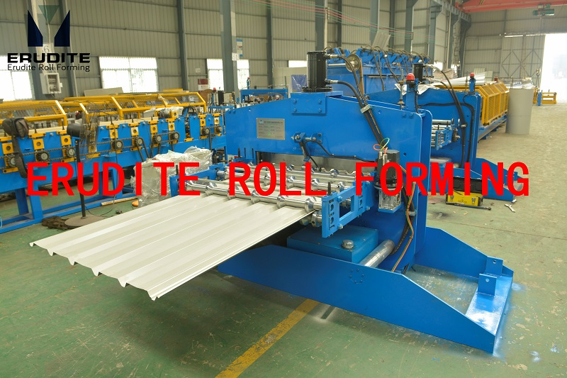AUTO CRIMPING CURVING MACHINE FOR YX28-200-1000 PROFILE (AC motor driving)