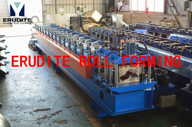 R95 ROLL FORMING MACHINE FOR RIDGE CAP WITH TOP-RIB