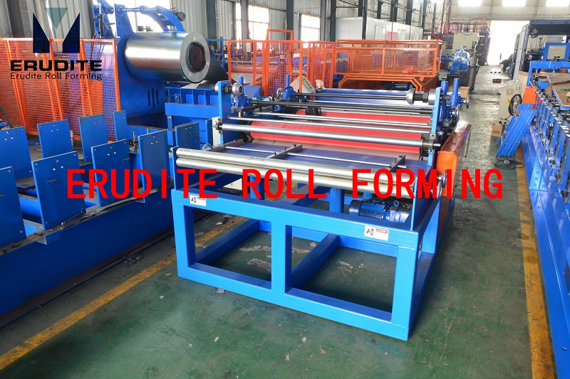 SIMPLE STRAIGHTENING / SLITTING / SHEARING LINE/0.4-1.0mm